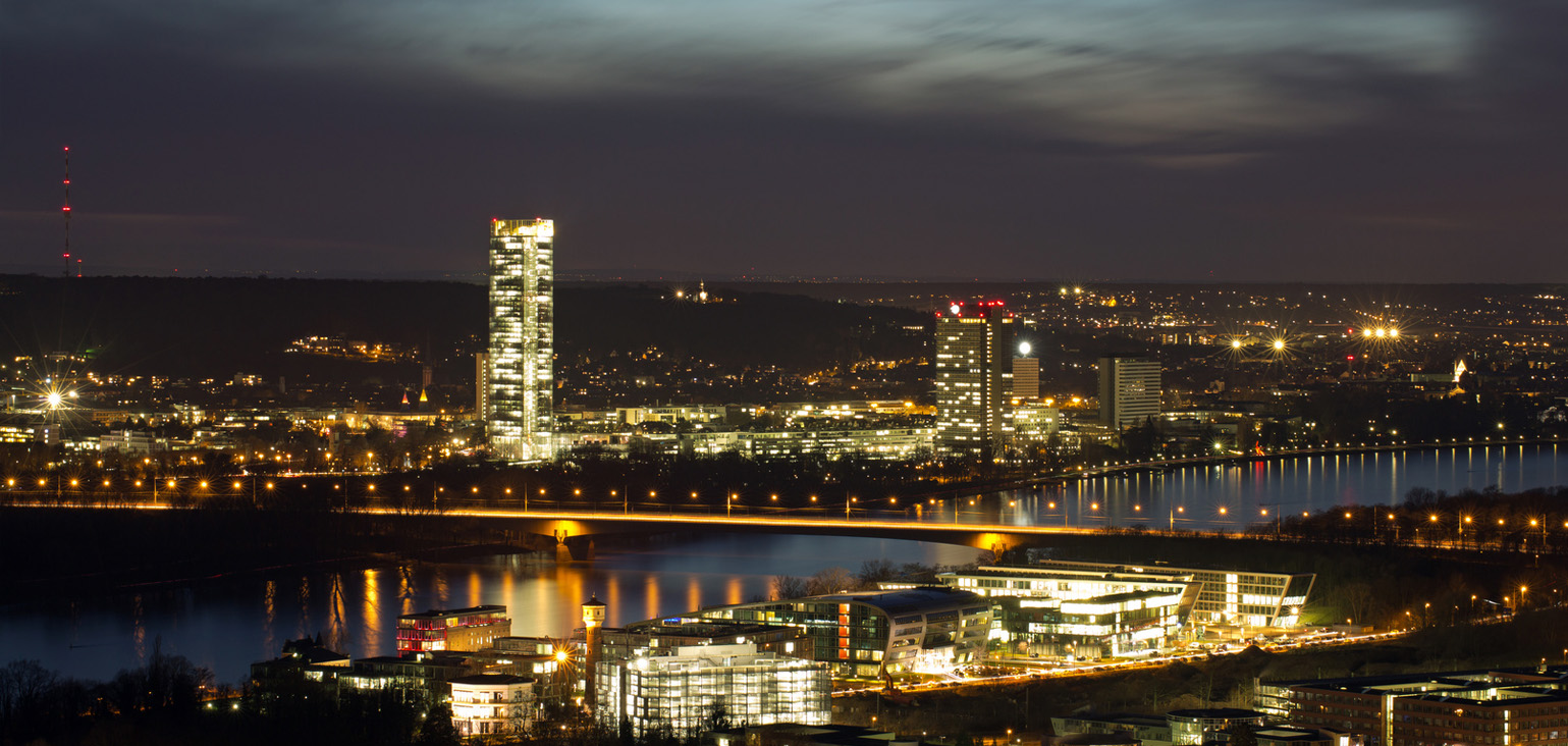 XVIII International Silage Conference - Bonn at night
